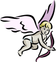 Valentines Day Angel Clipart