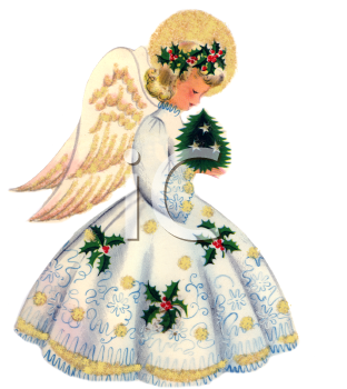 Christmas Angels Clipart.Royalty Free Christmas Angel Clipart